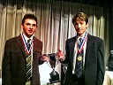 Debate Winners 2013 Classical Juston Clapis Franklin Edrich - front page